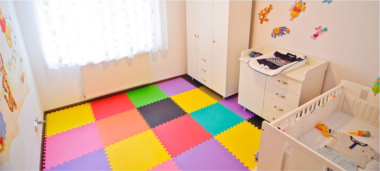 کفپوش اتاق کودک